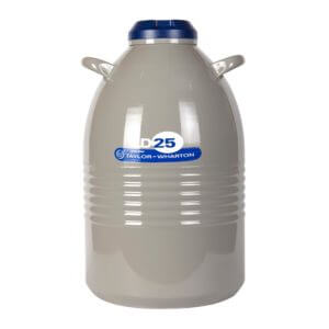 All Safe Global 25 Liter Liquid Nitrogen Dewar
