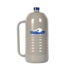 All Safe Global 4 Liter Liquid Nitrogen Dewar