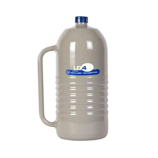All Safe Global 4 Liter Liquid Nitrogen Dewar