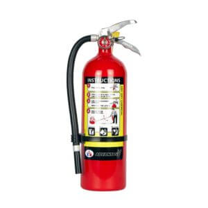 All Safe Global 5 lb ABC Dry Chemical Fire Extinguisher