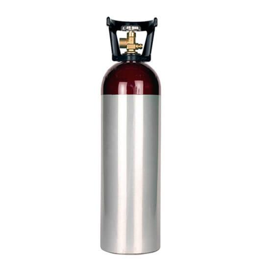 All Safe Global 60 cu ft Aluminum Nitrogen Cylinder with Handle