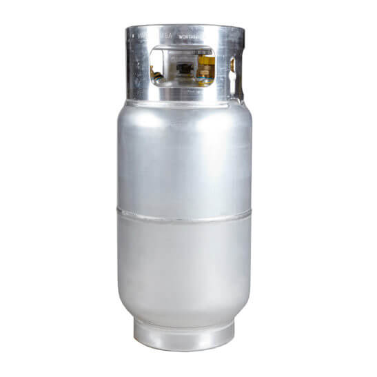 All Safe Global 33.5 Lb Aluminum Forklift Cylinder with Quick Fill Valve